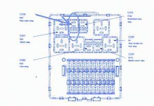 Ford Focus 2009 Main Engine Fuse Box  Block Circuit Breaker