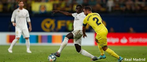 Mendy made debut in last visit to Villarreal | Real Madrid CF