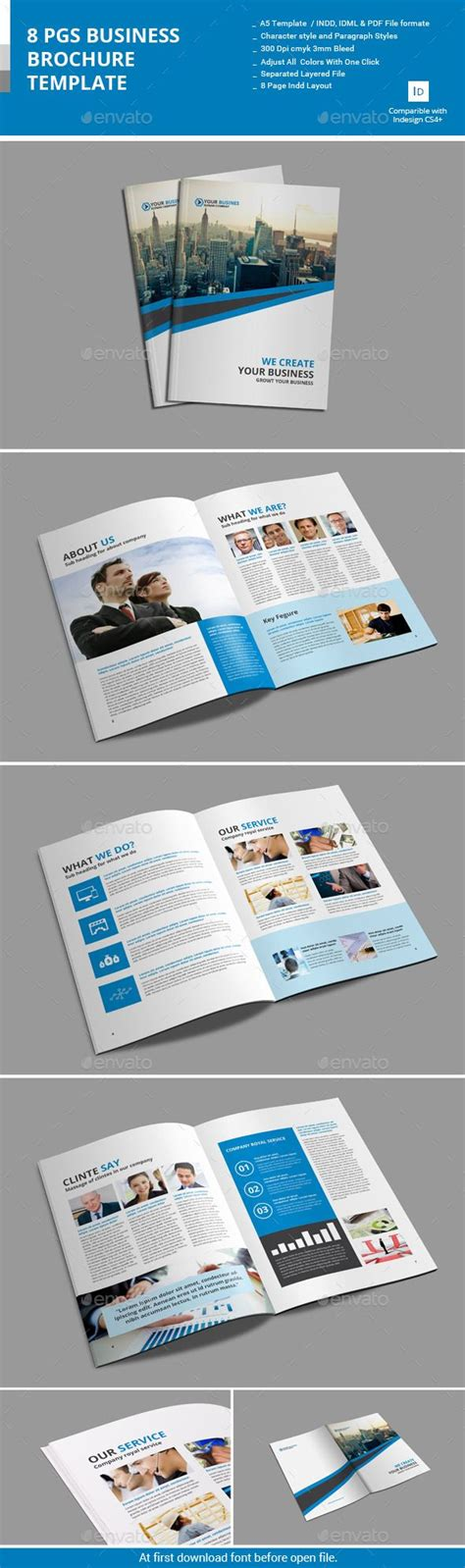 4 Page Brochure Template Free Best Clean Corporate Tri 20 Best Template 11x17 Booklet Brochure Images On