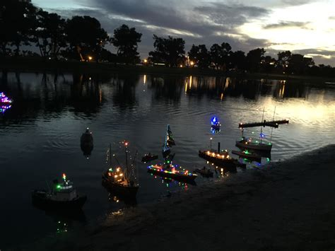 san diego boat parade of lights mini parade of lights at san diego model boat pond 5