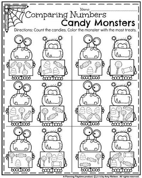 october kindergarten worksheets  website count