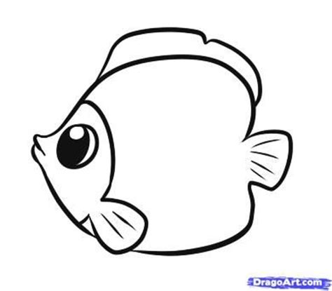 drawn fish cartoon pencil   color drawn fish cartoon
