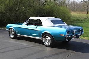1968 FORD MUSTANG CONVERTIBLE - 125777