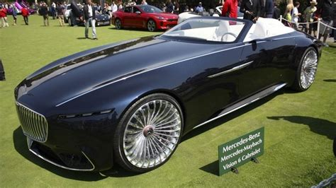 mercedes maybach vision  cabriolet review top speed