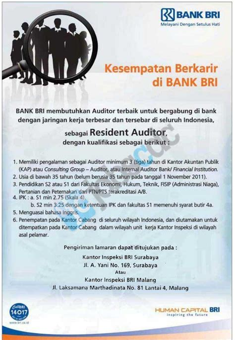 Buku bank , buku kas , ap &. PT Bank Rakyat Indonesia (Persero) Tbk - Resident Auditor Area Surabaya Malang November 2011 ...