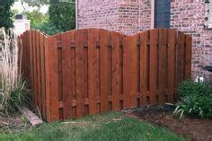wood fence ideas tight slat  top  bottom border