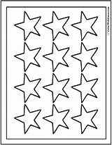 Coloring Star Stars Pages Twelve Sheet Printable Pdf Colorwithfuzzy sketch template