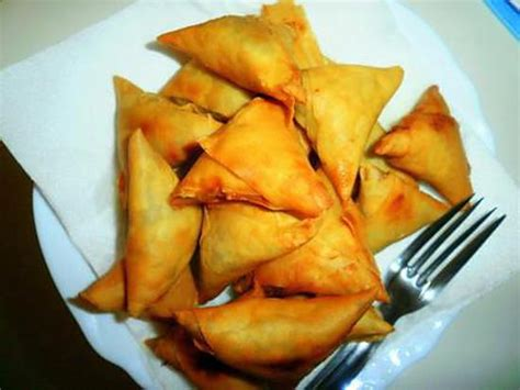 hache de cuisine recette de samoussa