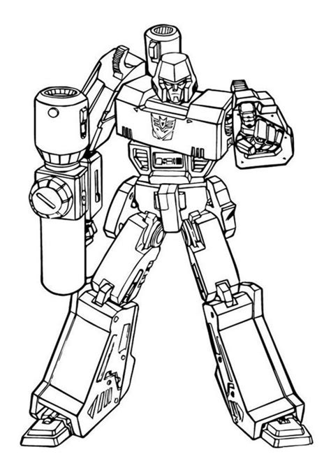 easy  print transformers coloring pages tulamama
