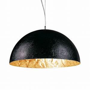 Pendelleuchte Schwarz : s luce blister pendelleuchte 40 cm schwarz gold ~ Pilothousefishingboats.com Haus und Dekorationen
