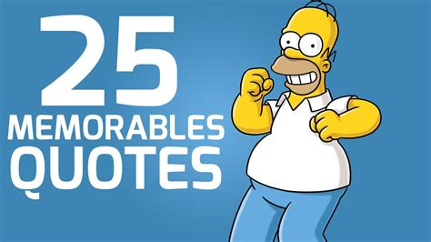 The 25 Best Simpsons Quotes Youtube