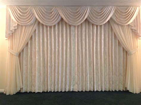 At Home Drapes by The Finishing Touches On The Newly Remodeled Yanac Funeral