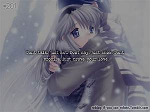Love Quotes Anime Tumblr ~ Quotes