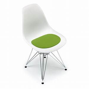 Eames Plastic Side Chair : felt cushion eames plastic side chair ~ Bigdaddyawards.com Haus und Dekorationen