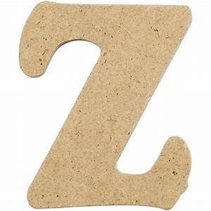 mdf small wooden letter z 4cm craftrange buy craft With wooden letter z