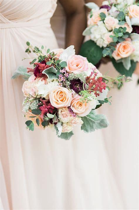 downtown elegance wedding  burgundy  blush tidewater  tulle coastal virginia wedding