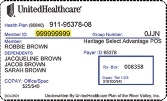 Everyone who has insurance through employers can also locate the company's group number on their monthly invoices. UnitedHealthcare to Exit Mississ