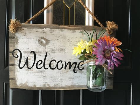 welcome signs for door front door welcome sign front porch welcome sign rustic