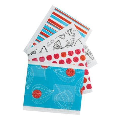 scotch decorative plastic bubble mailer assorted designs