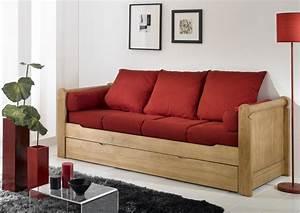 Acheter votre banquette lit gigogne couchage en 80x190 for Recherche canape lit