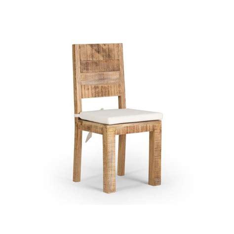 chaise bois massif chaise en bois pas cher mzaol com