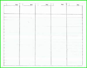 Blank calendar template 5 day week blank calendar 2018 for Free 5 day calendar template