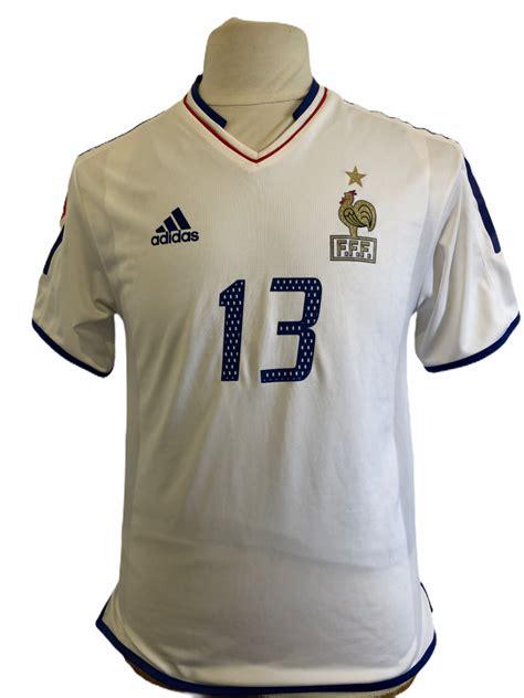 Pôle france wasquehal 7ème de la ronde de l'isard 2001. Football Shirt Vintage - Maillot Equipe de France 2004 Porté Worn #13