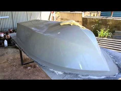 Boat Building Fiberglass Resin by Fibreglass Boat Building From Mold