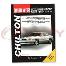 car repair manuals download 2002 buick lesabre regenerative braking buick lesabre repair manual ebay