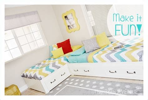 shared room and storage ideas the 36th avenue how to decorate a children shared bedroom the 36th avenue