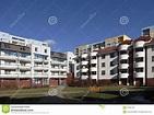 Housing Estate In Lodz - Retkinia Stock Image - Image of ...