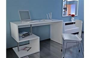Bureau Pas Cher Blanc : bureau design laqu blanc maxime bureau miliboo ventes pas ~ Teatrodelosmanantiales.com Idées de Décoration