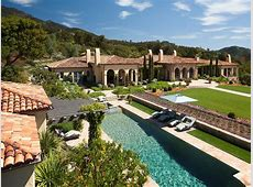 $45 Million Mediterranean Estate In Santa Barbara, CA