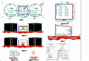 Fire Sprinkler Pump House Dwg Block For Autocad  U2013 Designs Cad