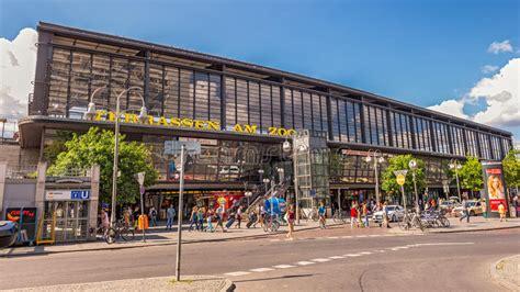 Berlin Zoologischer Garten Railway Station Editorial