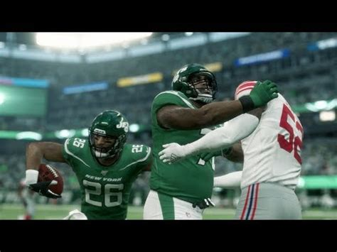 Madden 20 Gameplay New York Giants vs New York Jets ...