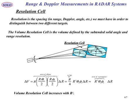 10 range and doppler measurements in radar systems