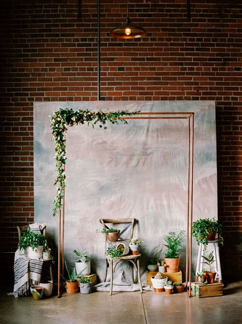 Background Winter Backdrop Ideas by These Indoor Ceremony Backdrops Will Make You Pray For