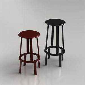 Hay About A Stool : 3d revolver stool by hay high quality 3d models ~ Yasmunasinghe.com Haus und Dekorationen