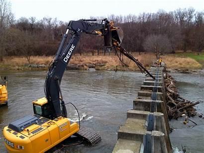 Debris Control Park Erindale Structure River Prevent