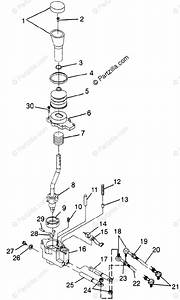 Polaris Atv 1998 Oem Parts Diagram For Gear Selector