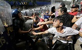 Anti-Donald Trump protests erupts in Philippines hours ...