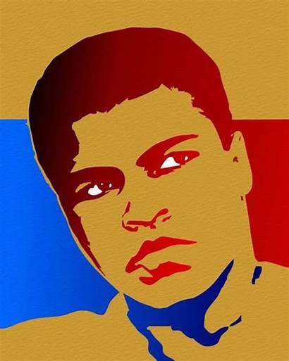 Ali Pop Muhammad Portrait Portraits Lesson Blends
