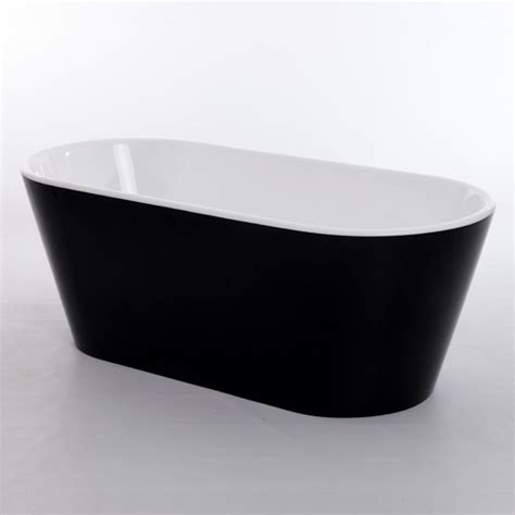 royce morgan sapphire black  luxury freestanding bath