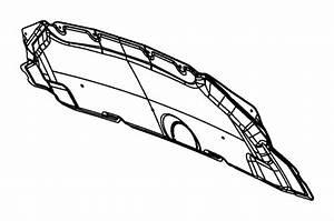 2012 Dodge Grand Caravan Silencer  Hood   3 6l V6 24v Vvt