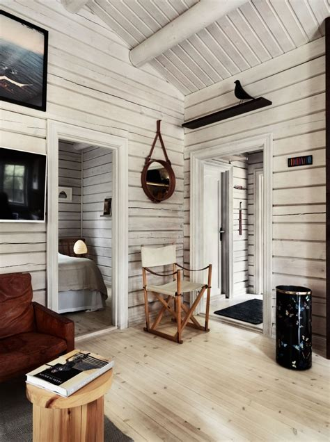 charming norwegian style log cabin packed  iconic
