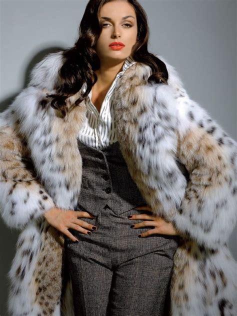 furs  models lynx fur coat fur fashion fur coat