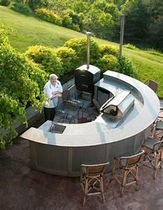 Küchenbar Selber Bauen : 37 ideen f r outdoor k che f r angenehmes abendessen im freien ~ Sanjose-hotels-ca.com Haus und Dekorationen