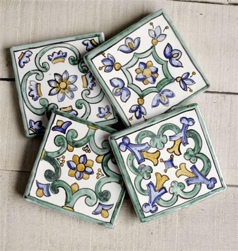 azulejos artesanales posavasos decoracion pared