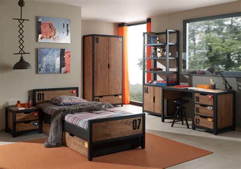 chambre indus chambre style industrielle alex 5 pièces